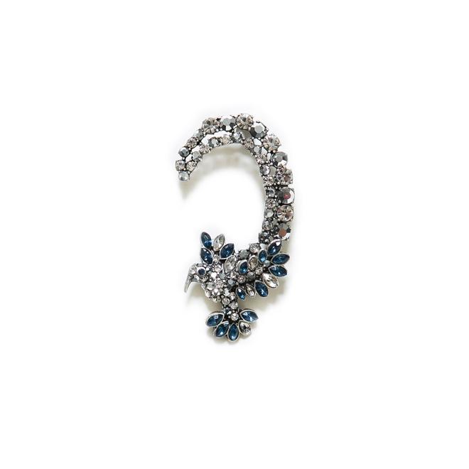 Ear cuff cristales