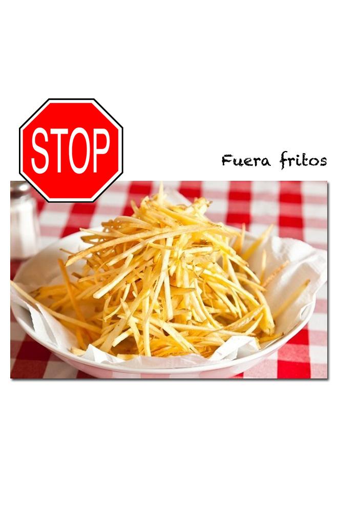 Olvídate de los fritos