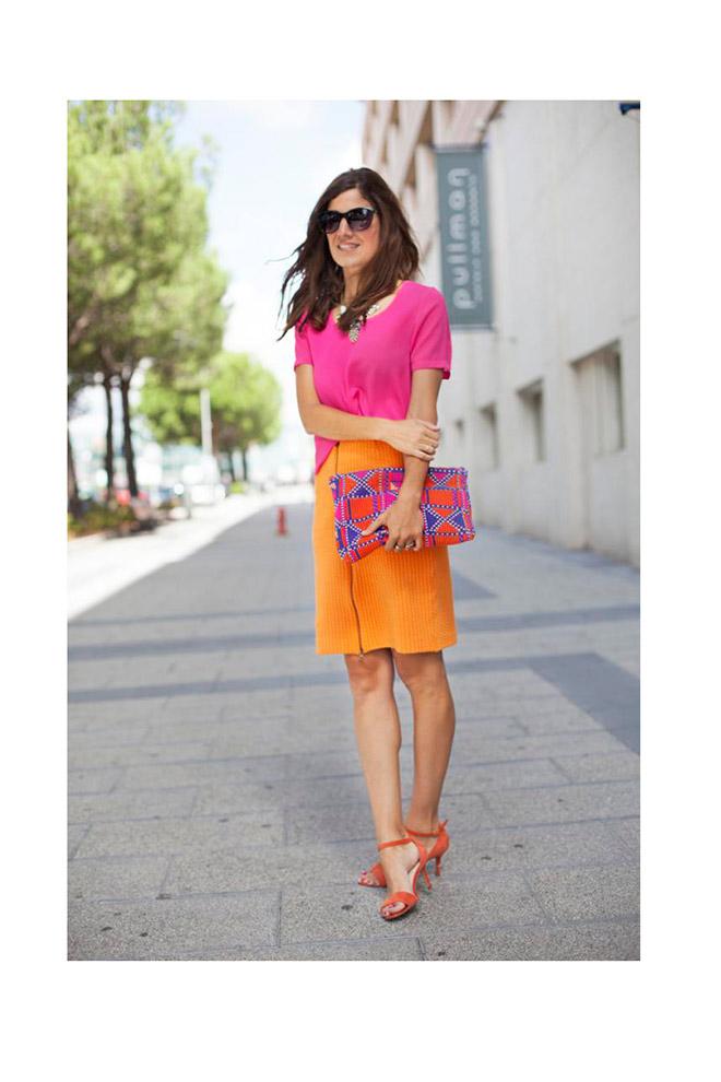 Orange&Pink