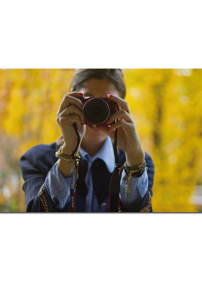 Canon EOS M y B a la moda