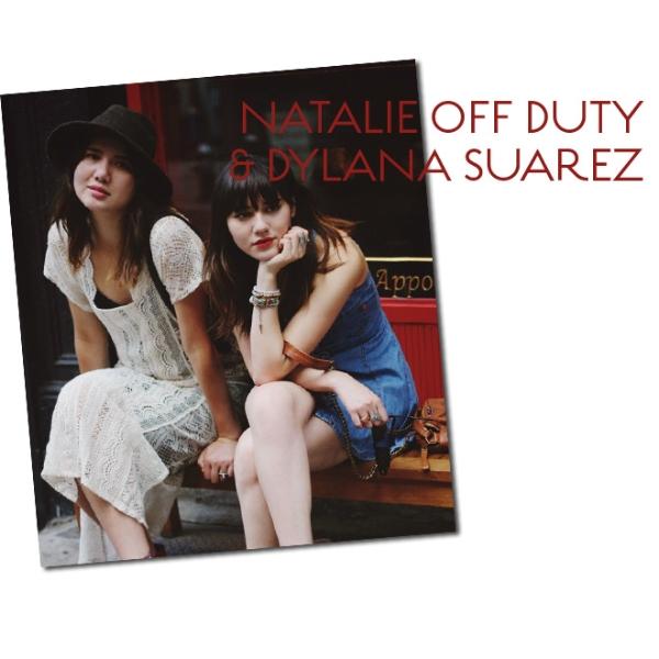 Natalie off duty & Dylana Suarez