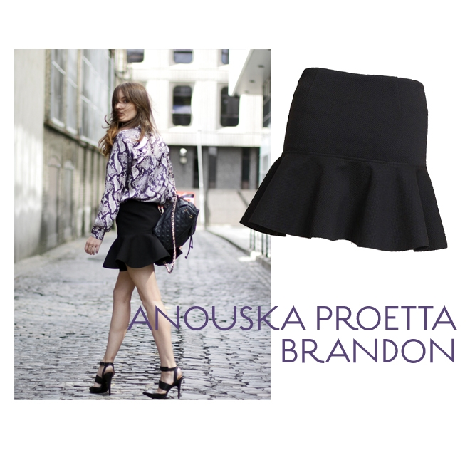Anouska Proetta Brandon & Skirt