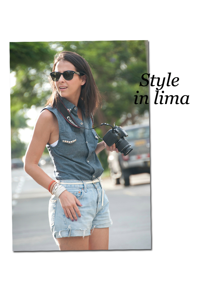 Style in Lima's camera