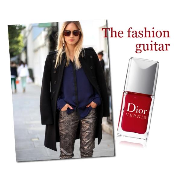 The fashion guitar & Dior