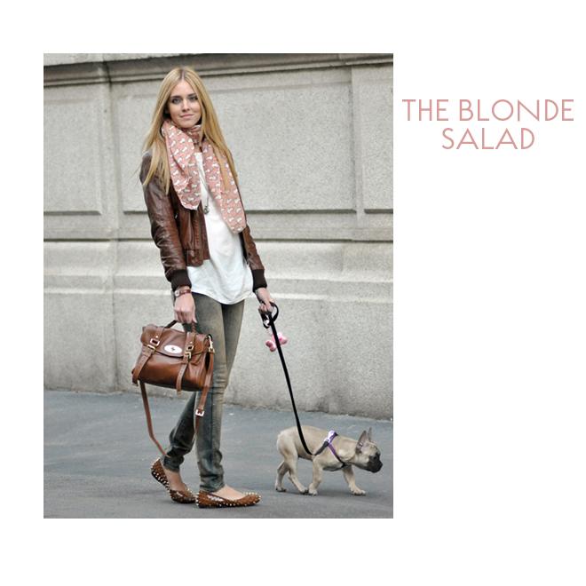La mascota de The Blonde Salad