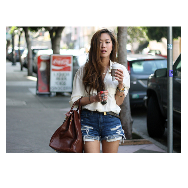 Los shorts de Song of Style