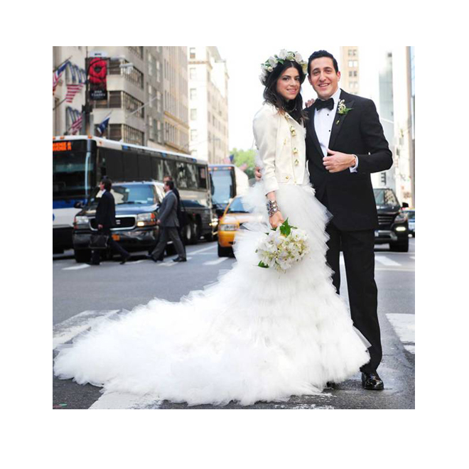 La boda de Man Repeller