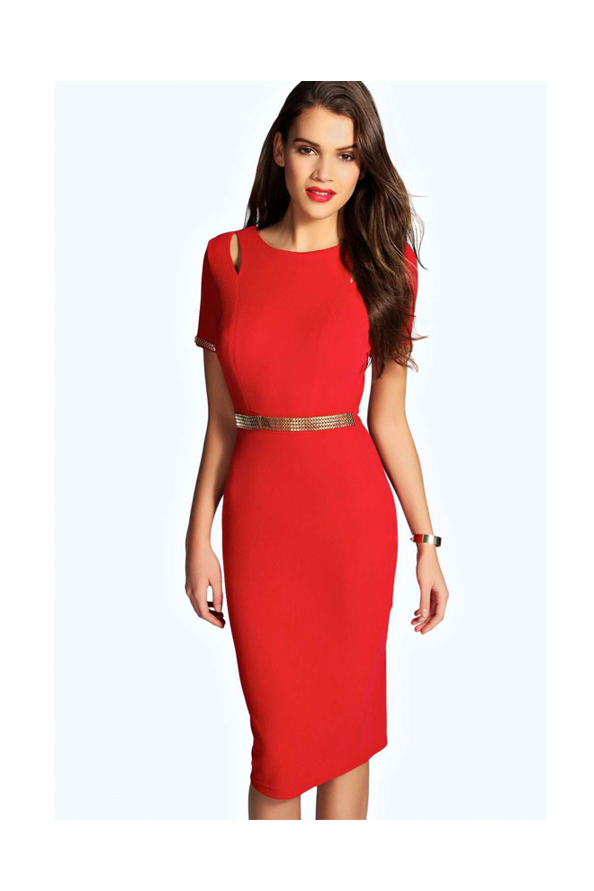 Bohoo vestidos stylelovely for Tubo corrugado rojo precio