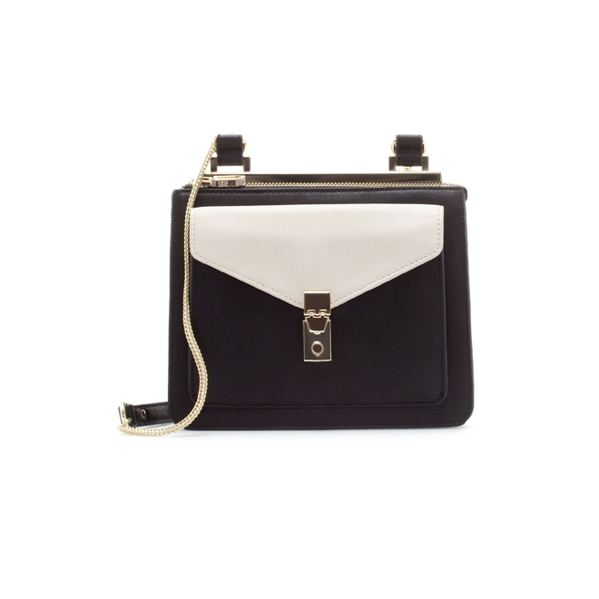 Bolso black & white