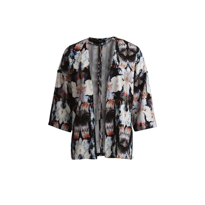 Kimono estampado floral