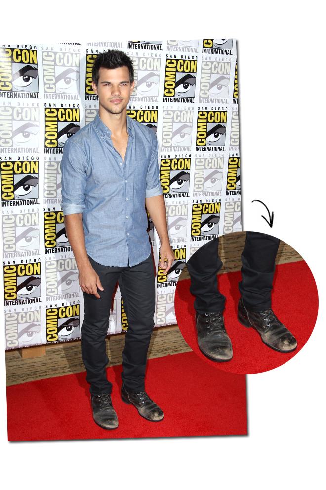 Las botas de Taylor Lautner