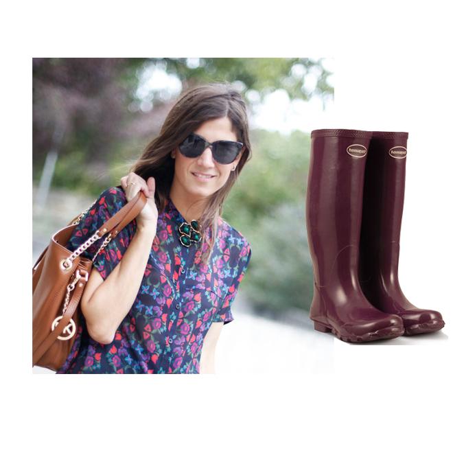 Las botas de B a la moda