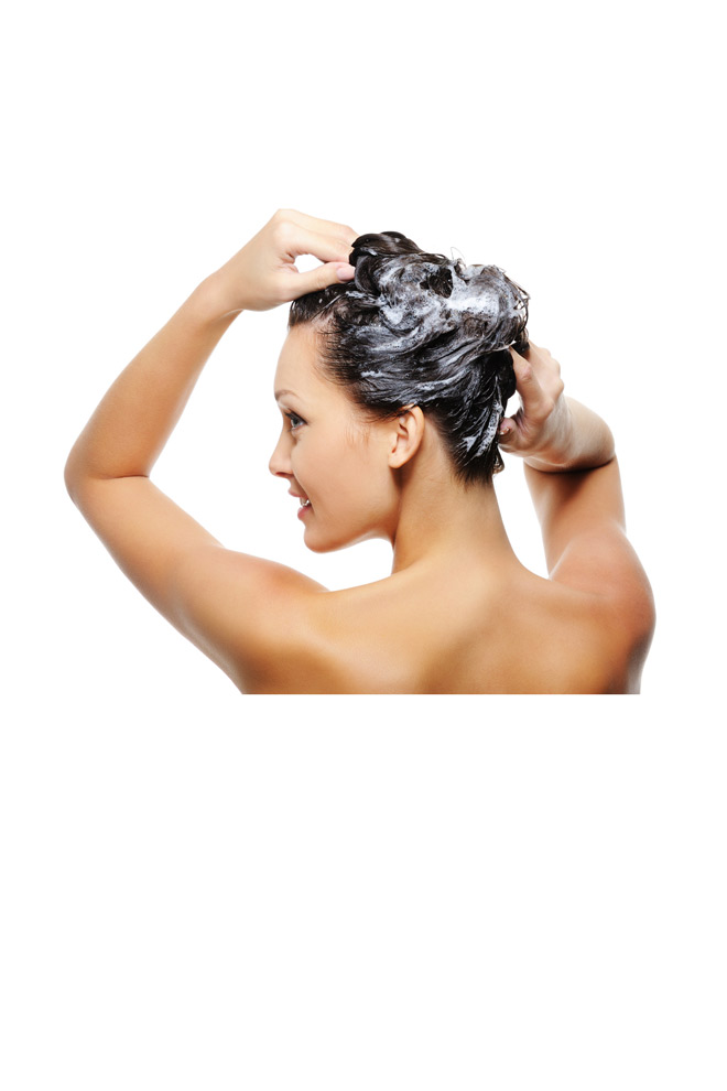 Lávate el pelo