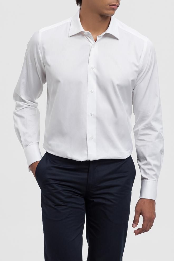 Camisa blanca elegante