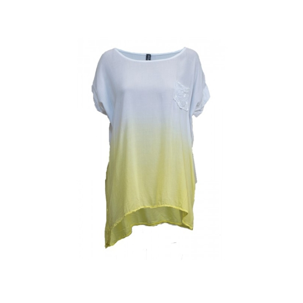 Maxi camiseta tie-dye