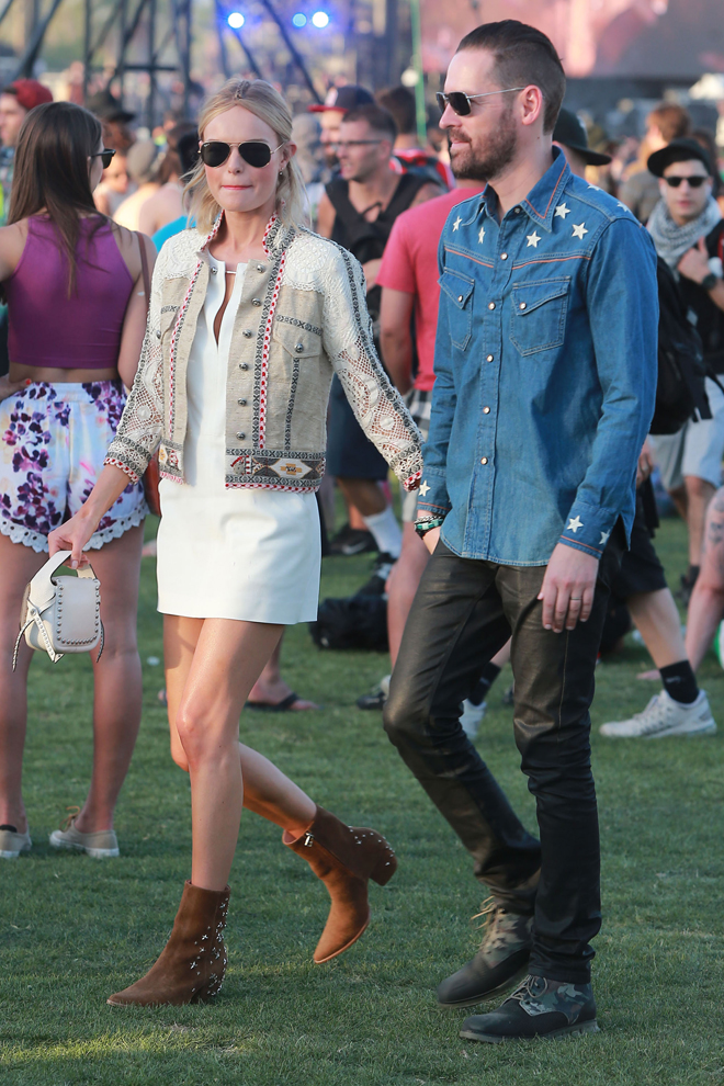 Kate Bosworth con su marido