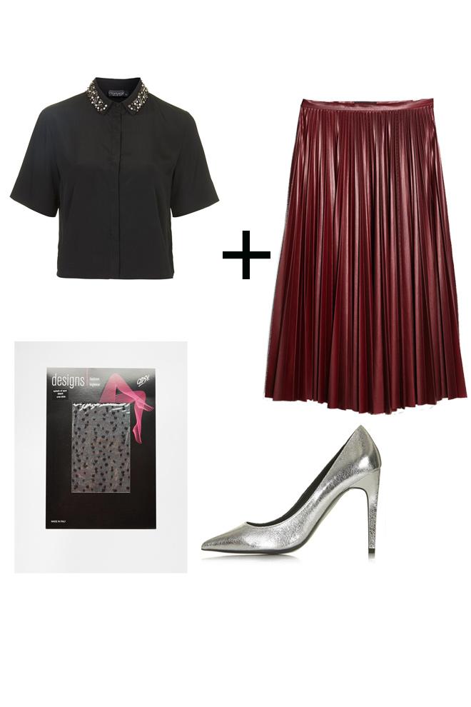 15bee53d72 Cómo llevar faldas midi - StyleLovely