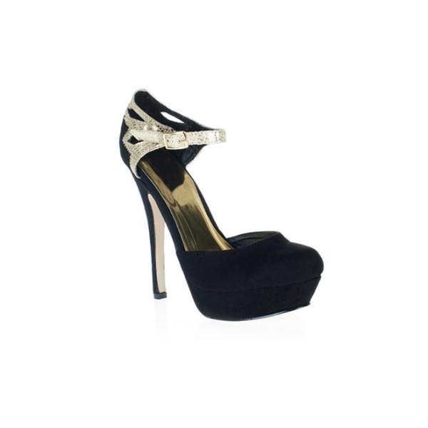 Zapatos de plataforma con pulsera