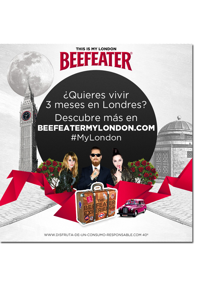 Beefeater experience