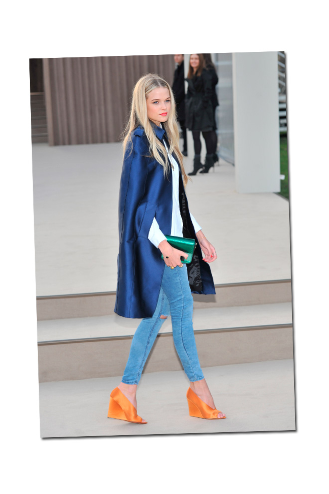 Copia el look de Gabriella Wilde