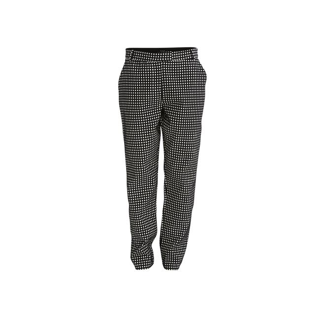 Pantalones de mini cuadros