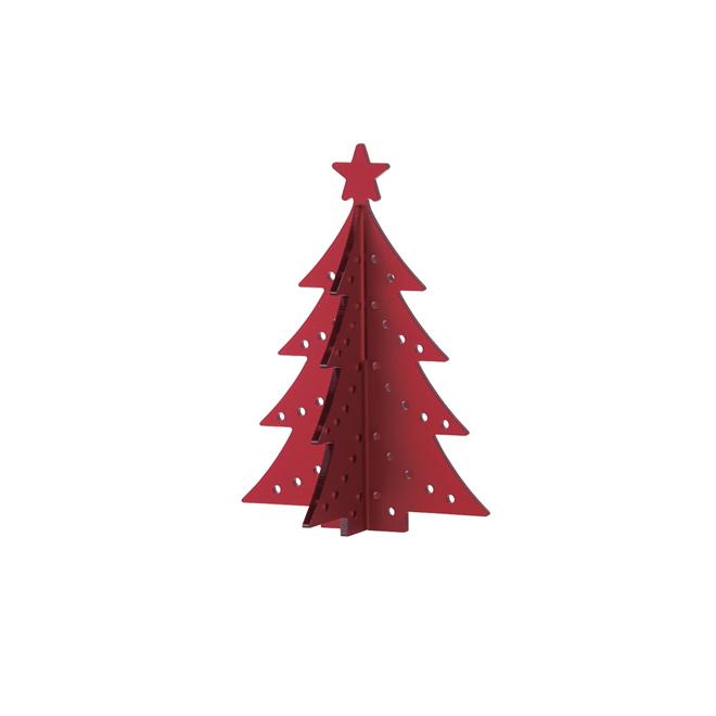 Mini árbol rojo