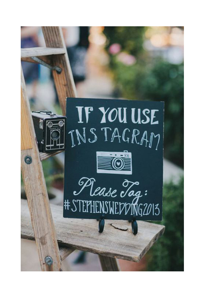 Pon un hashtag a tu boda