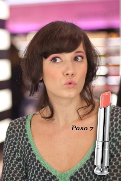 Paso 7: Dior Addict Lipstick 437 Charmante