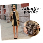 Atlantic Pacific & Leopard bag
