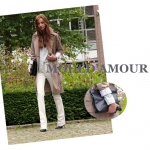Mode d'amour & Clutch oversized
