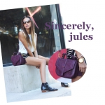 Sincerely, jules & Purple