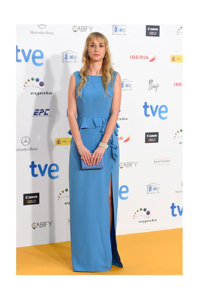 Ingrid García Jonsson en los Premios Forqué