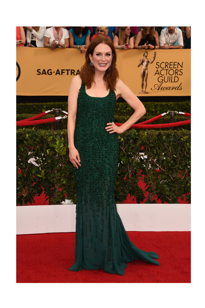 Julianne Moore en los SAG Awards