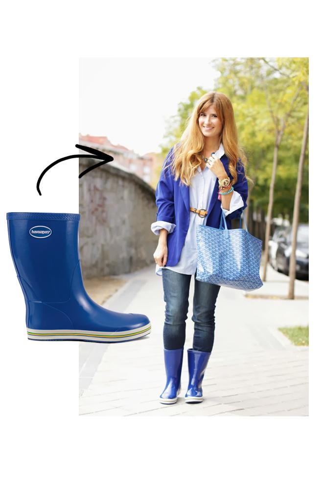 A trendy life de azul