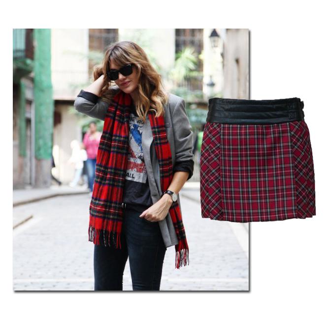 La falda de My daily style