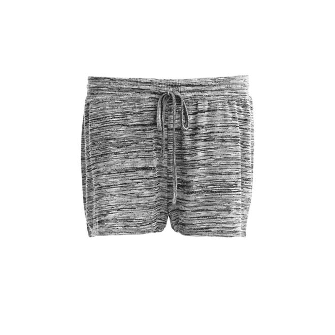 Shorts grises moteados