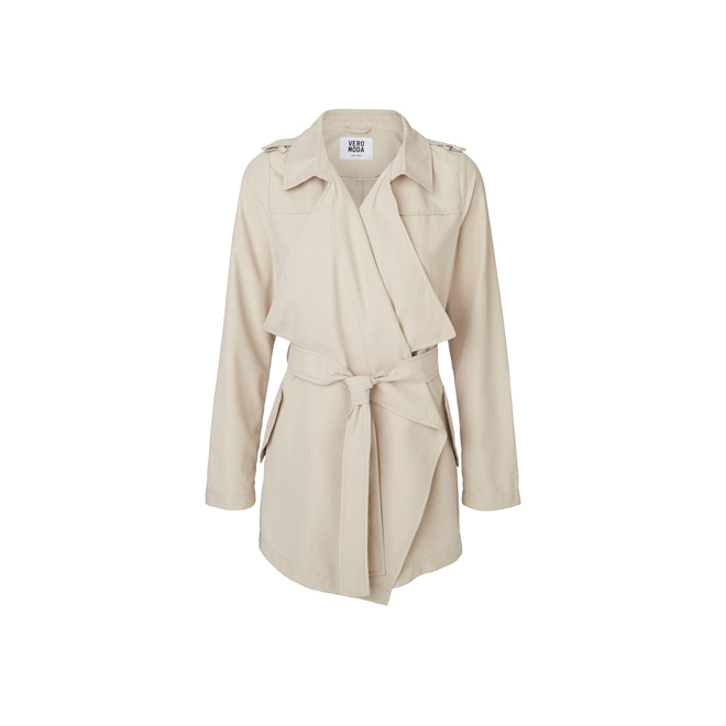 Trench casual beige