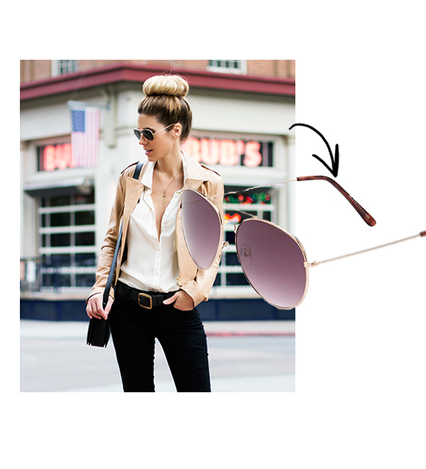 Sunglasses by bloggers