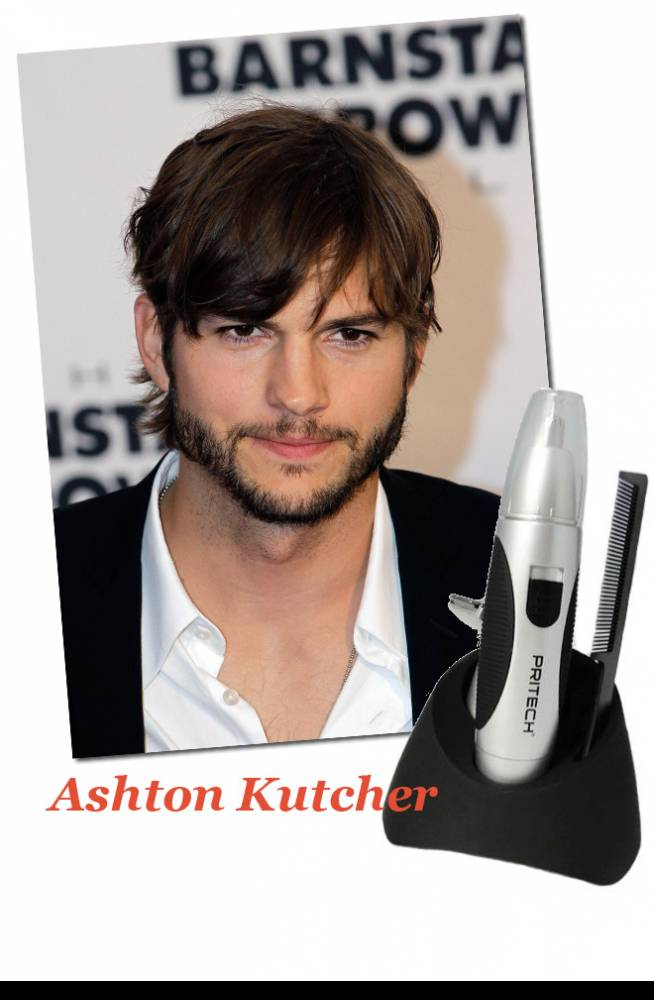 Ashton Kutcher & Cortapatillas