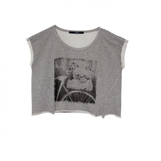 T-shirt con print