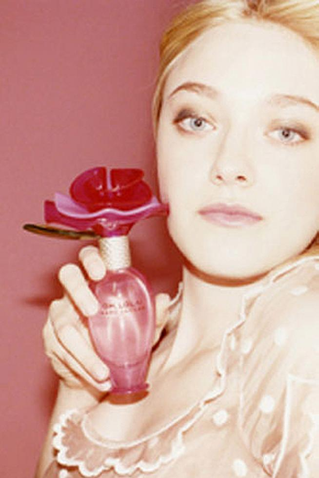 Dakota Fanning & Marc Jacobs