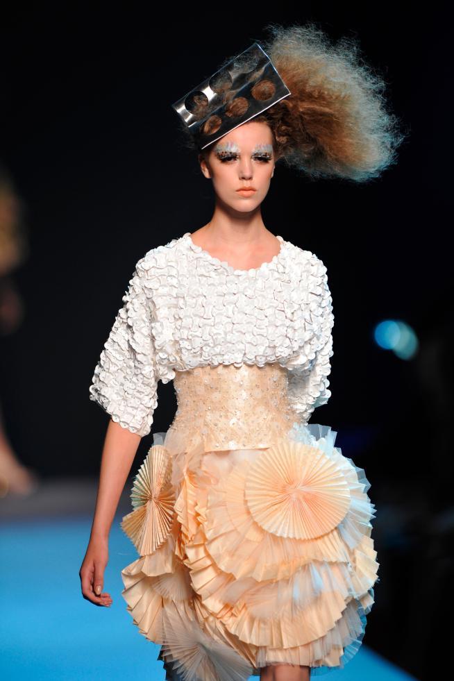 Christian Dior en la Alta Costura de París