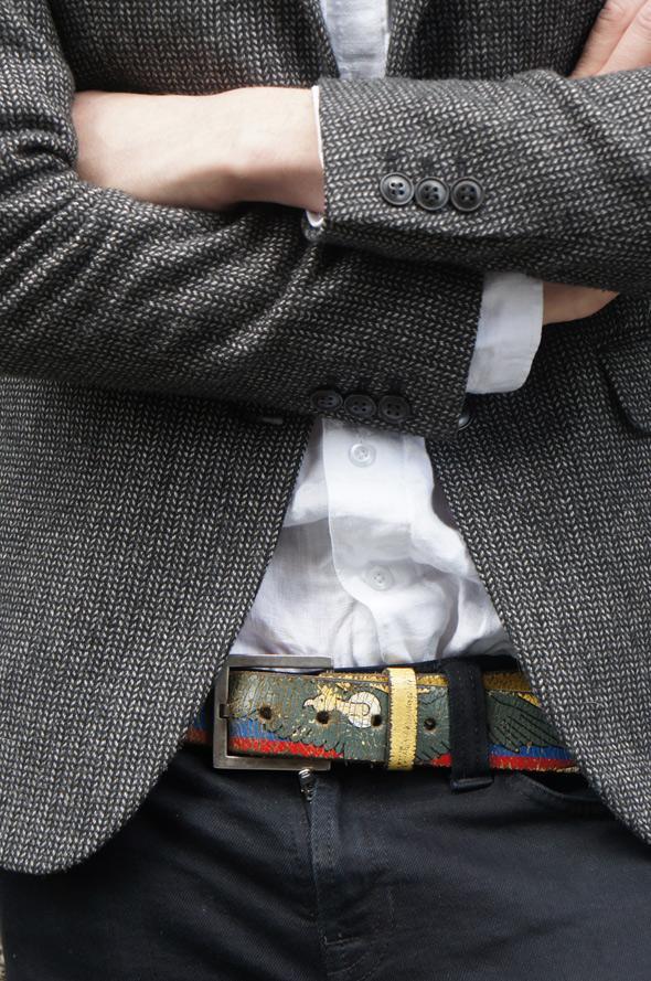 estilismo chico cinturon original
