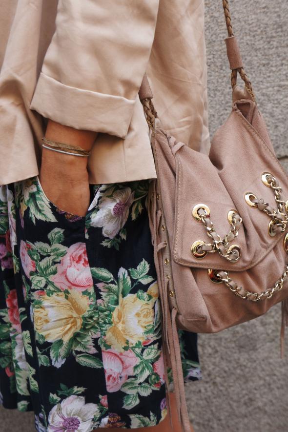 estilismo chaqueta falda bolso piamonte