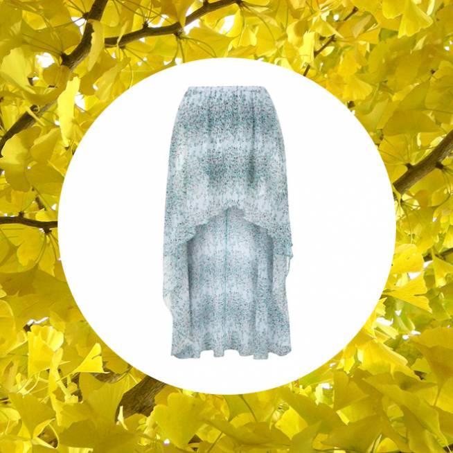 Falda para el otoño