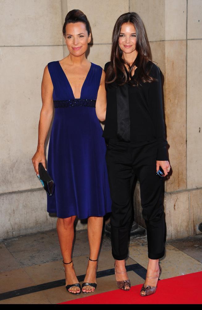 Katie Holmes & Roberta Armani