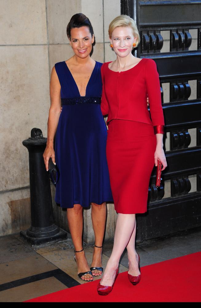 Cate Blanchett & Roberta Armani