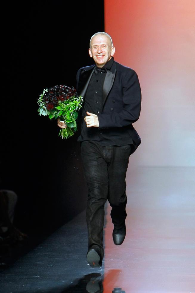 Jean Paul Gaultier en la alta costura de París