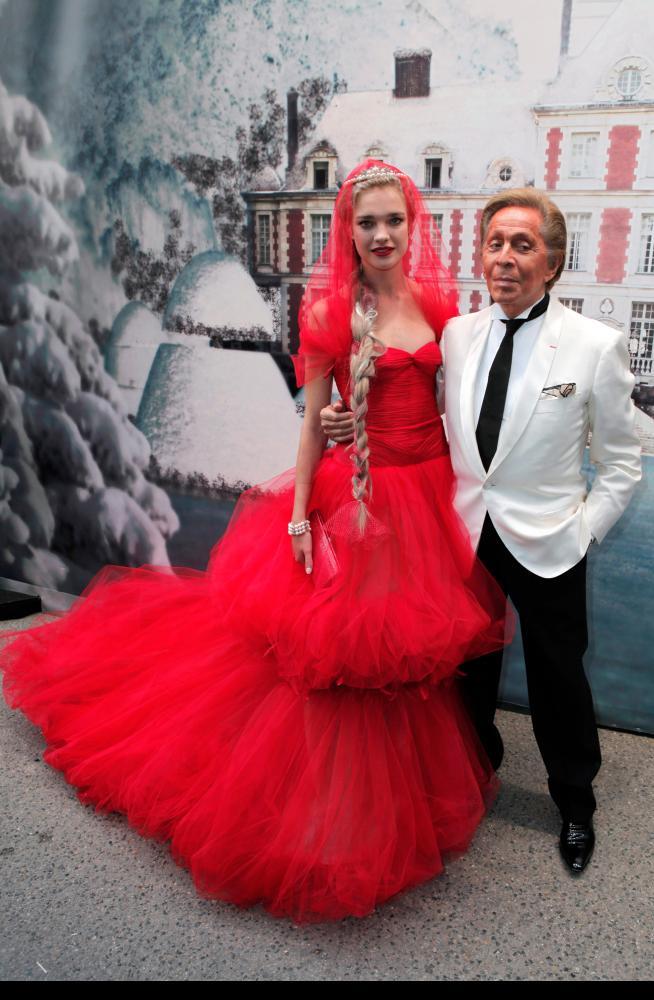 Natalia Vodianova & Valentino Garavani