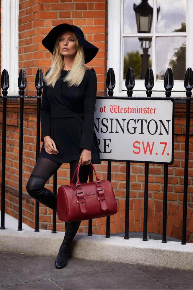 Kate Moss para Longchamp